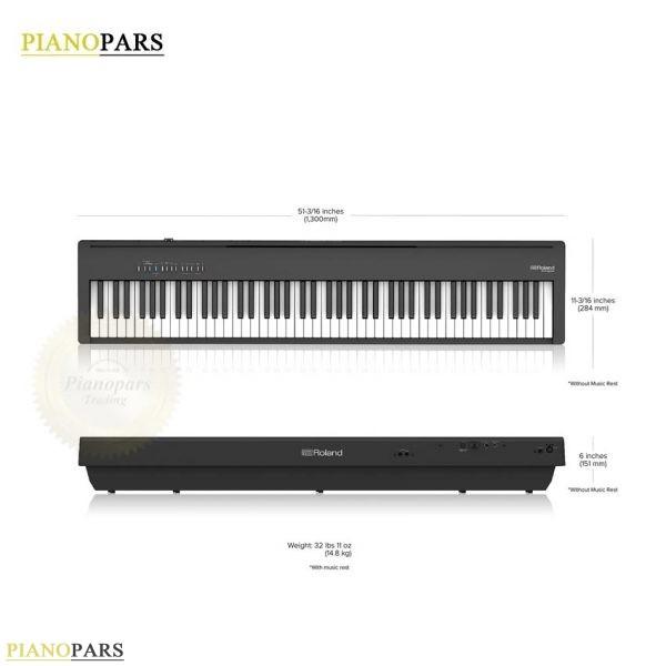 خرید پیانو رولند fp30x