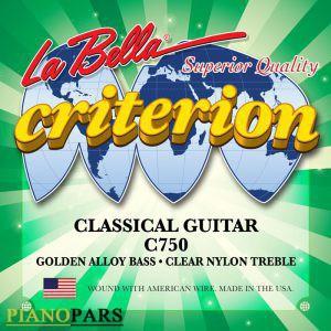 قیمت سیم گیتار کلاسیک لا بلا C750
