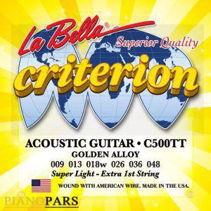 قیمت سیم گیتار آکوستیک لا بلا C500TT